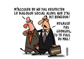 Renforcement du dialogue social, la CFDT peine à y croire