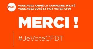 La CFDT :  2ème organisation syndicale à la SG !