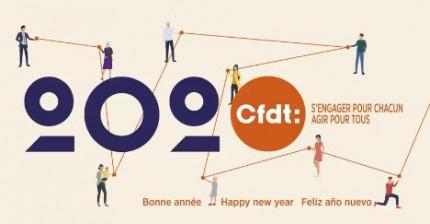 Bonne année avec la CFDT-SG