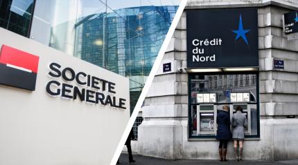 Annonce dans la presse du projet de fusion-absorption du Crédit du Nord par la Société Générale
