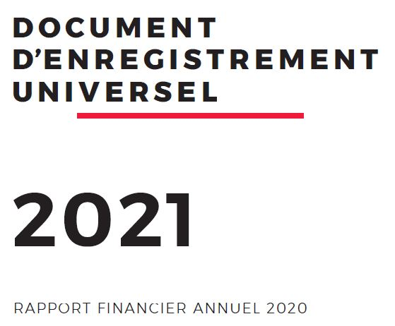 Rapport financier annuel SG en 2020