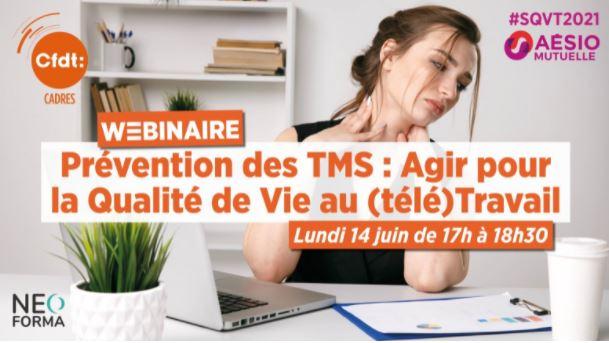 Prévention des TMS : Agir pour la Qualité de Vie au (télé)Travail