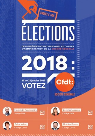 Election au Conseil d'Administration : Notez vos codes !